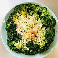 西兰花金针菇