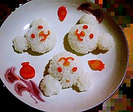 小熊米饭的做法