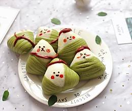 粽子宝宝(卡通馒头)#甜粽VS咸粽,你是哪一党?#的做法