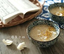 古风桂花酿百合粥的做法