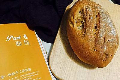 香喷喷的全麦培根面包