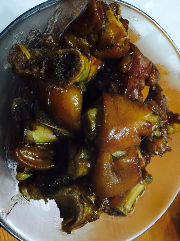 美味红烧猪蹄的做法