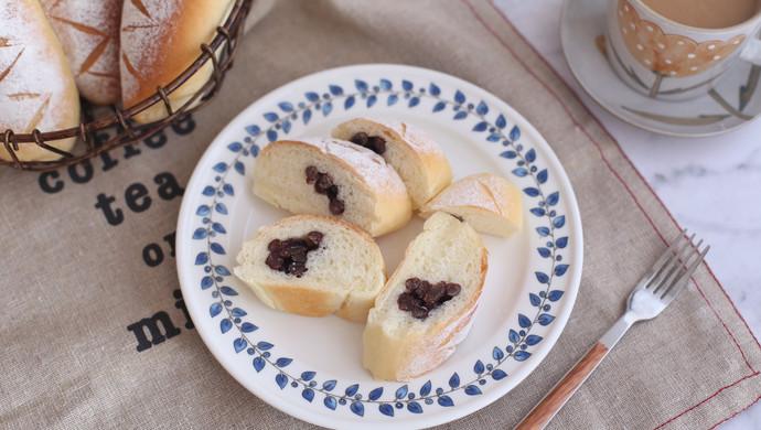 #硬核菜谱制作人# 香甜蜜豆包