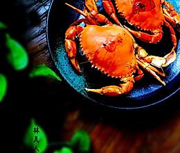 盐烤青蟹的做法