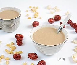 红枣百合豆浆的做法
