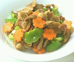 素炒野生小黄蘑的做法