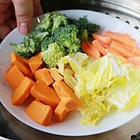 蔬菜薄饼的做法图解2