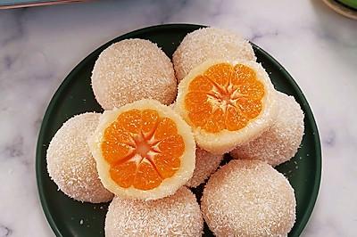 糯叽叽好吃到爆的砂糖橘水果大福