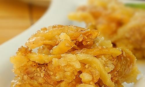 奶香红薯版萨琪玛的做法