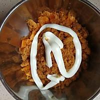 咸蛋黄肉松小面包的做法图解7