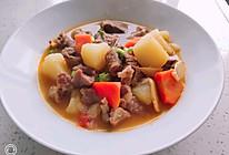 土豆番茄牛腩的做法