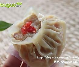 """开口""""蟹子""""饺的做法"""