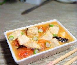 西红柿烧豆腐的做法