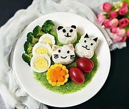 田园蔬菜儿童餐的做法