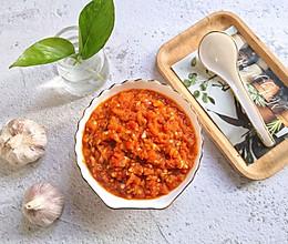 #相聚组个局#万能蒜蓉辣酱,年夜饭餐桌上不可少的蘸料!的做法
