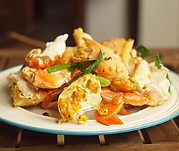 #秋天怎么吃#花椒焗青蟹的做法