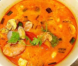 冬阴公海鲜汤的做法