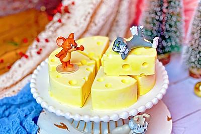芒果奶酪慕斯㊙️无需烤箱猫和老鼠最爱