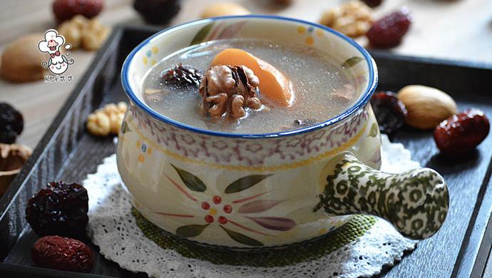 核桃雪梨汤 - 健脑的滋补汤水