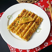 鸡蛋米饭饼#美白女王节#