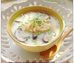 香菇山药糯米粥的做法