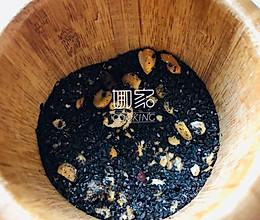 手工紫薯芝麻冷水汤圆的做法