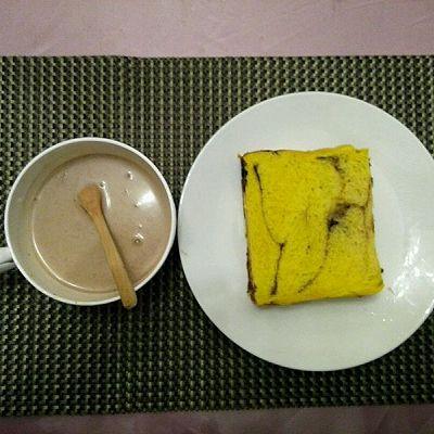 东菱热旋风面包机巧克力香蕉南瓜土司
