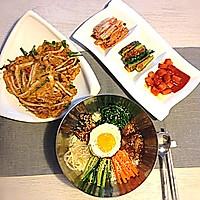 韩式拌饭的做法图解4