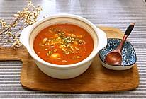 养生番茄鱼片汤的做法
