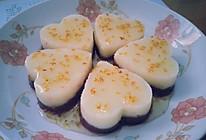 奶香桂花山药紫薯糕(紫玉桂花糕)的做法