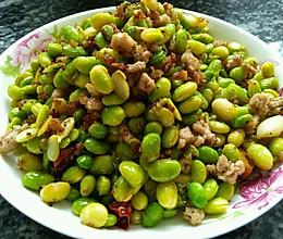 家常菜——炒毛豆的做法