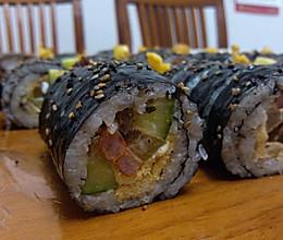美味寿司 韩国紫菜包饭 饭团的做法
