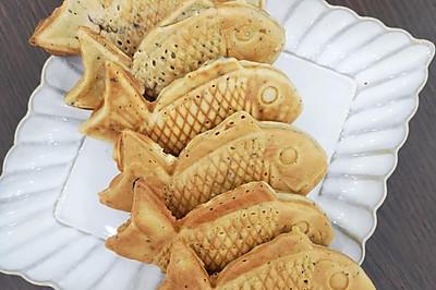 没有困难制造困难也要上|自制蛋糕粉做鲷鱼烧