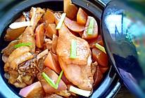 鸭肉炖水萝卜的做法