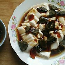 凉拌内脂豆腐