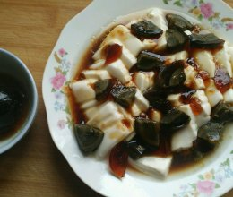 凉拌内脂豆腐的做法