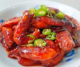 糖醋番茄虾的做法