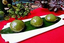 咸蛋黄肉松青团「小麦草汁」食品安全最重要蜜桃爱营养师私厨的做法