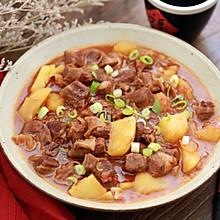 #秋天怎么吃#西红柿土豆炖牛肉