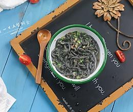 黑芝麻酱面线——宝宝辅食系列的做法