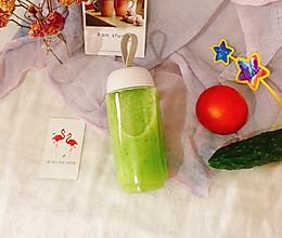#花10分钟,做一道菜!#蜂蜜黄瓜汁的做法