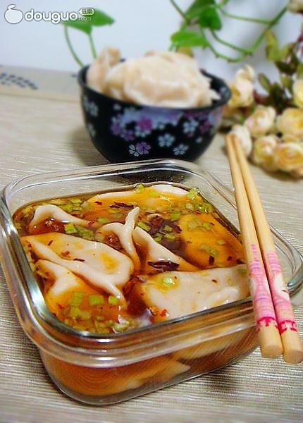 猪肉鲜蘑馅饺子