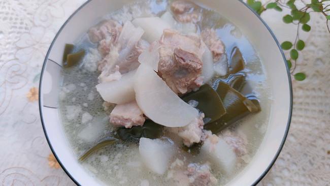 海带萝卜排骨汤的做法