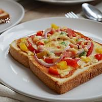 吐司批萨-5分钟搞定超简易的营养早餐的做法图解8