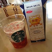 草莓果粒牛奶的做法图解6