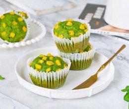 纯素菠菜玉米蛋糕的做法