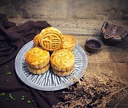#晒出你的团圆大餐#中秋月饼的做法