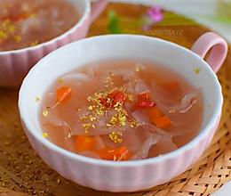 桂花莲藕银耳汤的做法