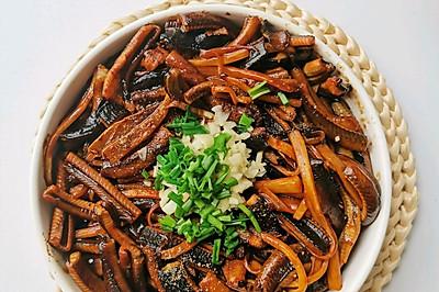 上海本帮菜,响油鳝丝