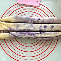 手撕紫薯吐司(一次发酵无需出膜)的做法图解13